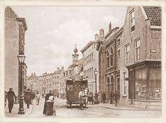 Breda Paardentram in de Boschstraat te Breda in 1912