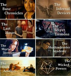 I have only read TMI and TID, goal for my life from now on - read all of them :D