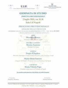 Studio Legale Buonomo - Diritto Previdenziale ed Assistenziale: Giornata di studio in Diritto Previdenziale: Tribu...