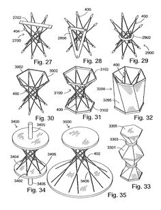 Patent US7278245 - Radial-hinge mechanism - Google Patents Movement Architecture, Geometry Architecture, Art And Architecture, World Of Wearable Art, Diy Clothes Hangers, Bamboo Structure, Digital Fabrication, Graduation Project, Math Art