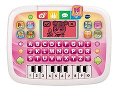 Childs Little Tablet Toddler Learning Toy Intended Kids 2-5 years old Pink New #VTech