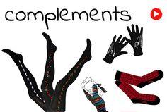 Guantes, calcetines y medias estampadas en instintobcn
