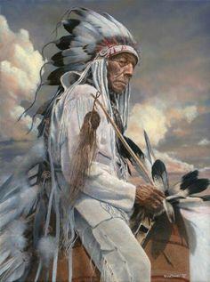 Cheyenne - Old warrior