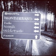Why you would ever want to go to Forks or Panem I don't know, but I'd visit the others in a heart beat!