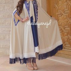 Check out our moroccan hijabs at ssomecollec Abaya Fashion, Muslim Fashion, Modest Fashion, Fashion Dresses, Mode Abaya, Mode Hijab, Mode Kimono, Abaya Designs, Moroccan Dress