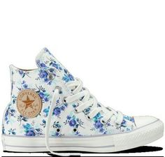 Cute converse shoes! Yes I'm addicted!