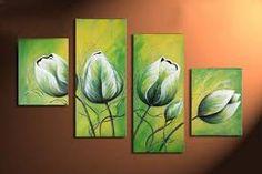 Bildergebnis für cuadros pintados con calas