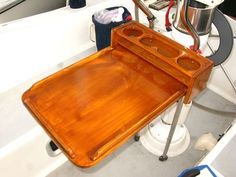 Boat Projects: Homemade Teak Cockpit Table