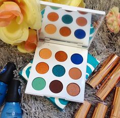 colourpop, colourpop sol palette, colourpop mar palette, swatches, review, eyeshadow palette, drugstore makeup, palettes under $15, gift guide for her, nyc blogger,