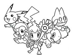 free pokemon coloring pages for kids free printable