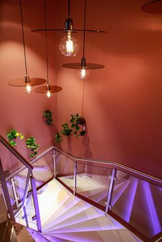 Spice up your staircase with Flachmann Pendants. Paris, Opening Night, Spice Things Up, Modern, Ceiling Lights, Simple, Environment, Calm, Pendants