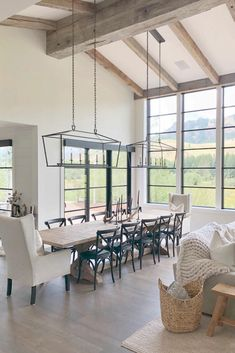 Home Living Room, Living Spaces, Kitchen Living, Living Room Country, Small Living, Modern Farmhouse Living Room Decor, Open Kitchen, Living Room Designs, Modern Farmhouse Interiors