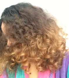 Curly Ombre