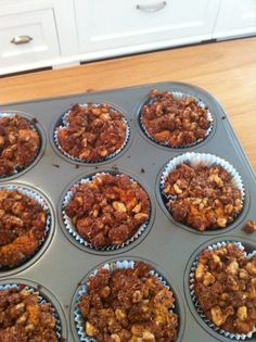 Hot out of the oven: Cinnamon Crumb Cupcakes from Gluten-Free Cupcakes by Elana Amsterdam of Elana's Pantry
