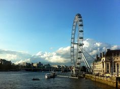 London Eye in London, England
