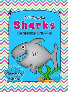 Sentence Shuffle -  SHARK - Informational Text, Fluency, & more!