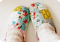 Make Handmade Slippers with Fun and Easy Tutorials