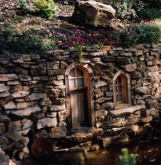 tiny hidden cottages | design # architecture # green living