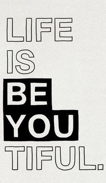 Life in Black & White | Thoughts On Originality | 'Be A Voice, Not An Echo