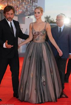 Jennifer lawrence at venice film festival mother premiere
