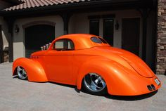 Willys coup...nuff said                                     p.s. the color is on fire.