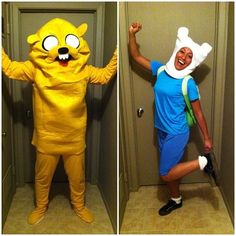 Jake and Finn | 30 Unconventional Two-Person Halloween Costumes