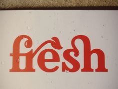 Fresh Logo by seanwes