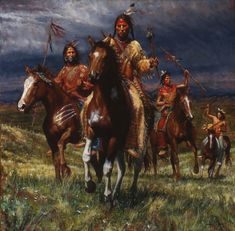 Artist James Ayers has sold War Party Rides which features a Lakota man. James Ayers specializes in images of Native Americans Native American Paintings, Native American Artists, Native American History, Indian Paintings, Western Artists, British Artists, Sioux, Native Indian, Native Art