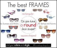glasses for round face shape | The best frames for round face shape by thirtysomethingurbangirl