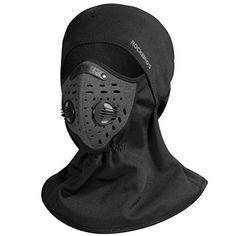 9eb6f7da6f0 Great for RockBros Ski Mask Balaclava Fleece Cycling Thermal Windproof Face  Mask Black.   12.99