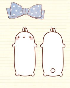 Front and back Molang