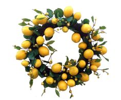 Italian Lemon Wreath