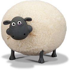 This is Shirley, the sheep i want to make into a floor pouf