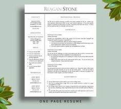 How To Get Your Dream Job  Resume Template  Cv Template  Free