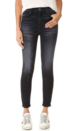 Current/Elliott The Super High Waist Stiletto Jeans