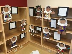 Inuit clothing art made by grade 2 students for our Arctic Museum! Classroom Behavior Management, Social Studies Classroom, Teaching Social Studies, Classroom Setup, Inuit Clothing, Teacher Resources, Teaching Ideas, Aboriginal Education, Inuit Art