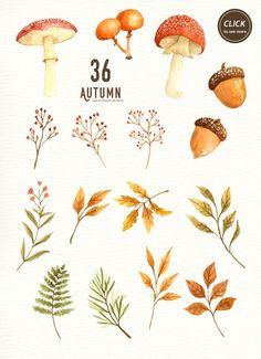 Осенние картинки высечки