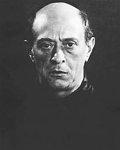 SCHONBERG Arnold - Austrian (1874 - 1951) ~ 1930 by Man Ray