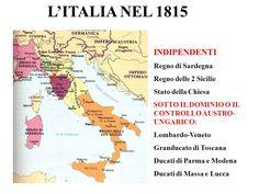 Cartina Dell Italia Nel 1815.34 Idee Su La Restaurazione In Italia Vienna Italia Mappa Dell Italia