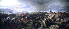 Battle of Vienna (1683), Józef Brandt,  oil on canvas, 136 × 318 cm, Polish War Museum.
