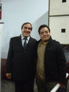 Con el Congresista Lescano. (2011)