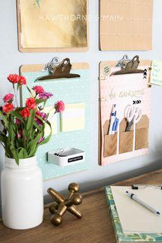 desk+command center+to+get+organized 8