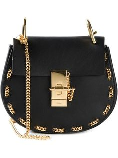 Chloé 'drew' Shoulder Bag With Chain Detail - Restir - Farfetch.com