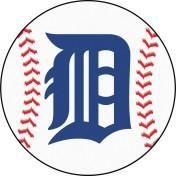 Detroit Tigers baseball floor mat