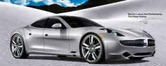 Fisker Karma.  403 horsepower. 125mph. Gorgeous. Downside: ridonkulously overpriced; if you can afford NINETY-SEVEN THOUSAND FREAKING DOLLARS FOR THE BASE MODEL, you don't care how much gas costs.