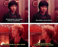 Mrs. Hudson, are you drunk? #Hamish Watson Holmes