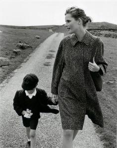 Burberry Prorsum Fall 1998 | Stella Tennant by Mario Testino