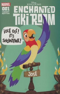 Disney Kingdom's Enchanted Tiki Room 1 grandt connecting cover
