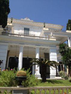 Beautiful and most interesting to visit  ~  Achilleion Palace, Corfu
