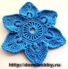 Hobby lavori femminili - ricamo - uncinetto - maglia  fiori 90f268ea1d2e